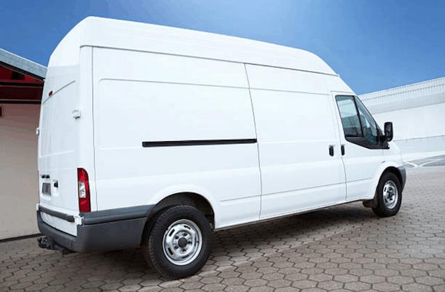 white appliance repair van